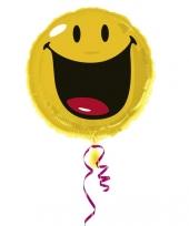 Ballon geschikt voor helium smiley trend