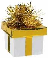 Ballon gewicht cadeau goud zilver 175 gr trend
