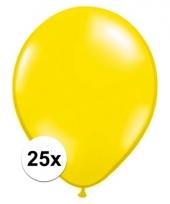 Ballonnen 25 stuks citroen geel qualatex trend
