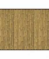 Bamboe print decoratie papier trend
