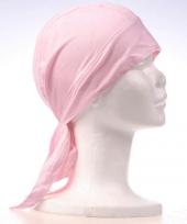 Bandana roze gekleurd trend