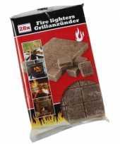 Barbecue accessoires aanmaakblokjes trend