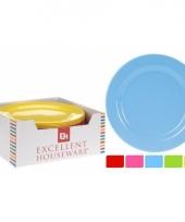 Barbecue borden van plastic 25 cm trend