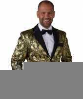 Barok colbert goud voor heren trend
