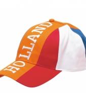 Baseballcap oranje holland volwassen trend