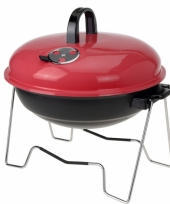 Bbq rood 36 cm trend