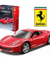 Bburago ferrari 458 italia race and play kit modelauto trend