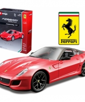 Bburago ferrari 599 gto race and play kit trend
