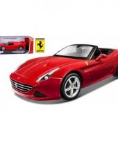 Bburago ferrari california t open top modelauto trend 10070985