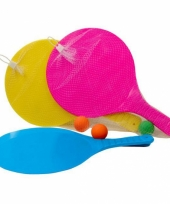 Beachball rackets met bal trend