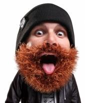 Beard head bushy bike muts trend