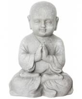 Beeld boeddhistische monnik 25 cm trend