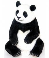 Beeld zittende pandabeer 46 cm trend