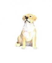 Beeldje bruin labrador hondje 21 cm trend 10081240