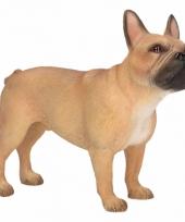 Beeldje bruine franse bulldog 11 cm trend