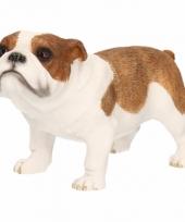 Beeldje bulldog 12 cm trend