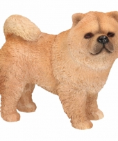 Beeldje chow chow hond 12 cm trend