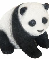 Beeldje pandabeer 14 cm trend
