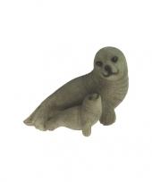 Beeldje zeehond rechts 11 cm trend