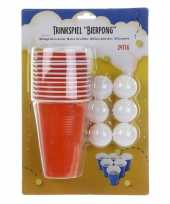 Beer pong set 24 delig trend