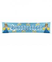 Beieren straat banner oktoberfest trend