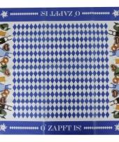 Beiers tafelkleed 80 x 80 cm trend