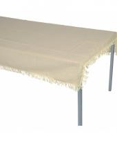 Beige tafelzeil voor buiten 220 x 140 cm trend
