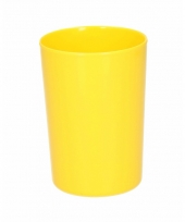 Beker melamine geel 300 ml trend
