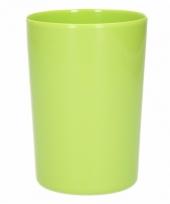 Beker melamine groen 300 ml trend