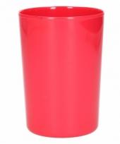 Beker melamine rood 300 ml trend