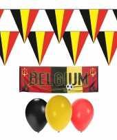 Belgie rode duivels supporter versiering pakket trend