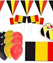 Belgie supporter versiering pakket trend