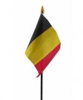 Belgie vlaggetje met stokje trend