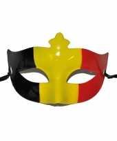 Belgische vlag oogmasker trend