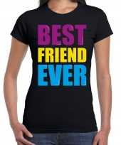 Best friend ever beste vriend ooit fun t-shirt zwart dames trend