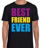Best friend ever beste vriend ooit fun t-shirt zwart heren trend