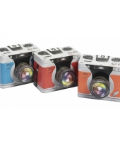 Bewaarblikje rode camera trend