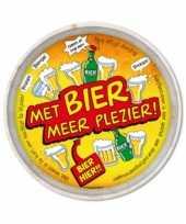 Bier thema dienblad 29 cm trend
