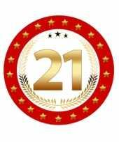 Bierviltjes 21 jaar verjaardag trend