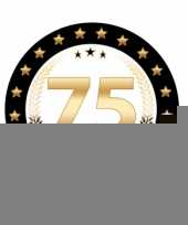 Bierviltjes 75 jaar rhodium jubileum trend