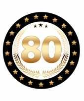 Bierviltjes 80 jaar eiken jubileum trend