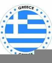 Bierviltjes in grieks thema trend