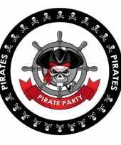 Bierviltjes in piraten thema trend