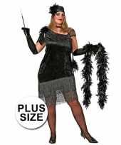 Big size charleston jurkje voor dames trend