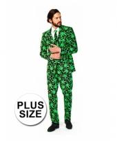 Big size kostuum cannabis trend