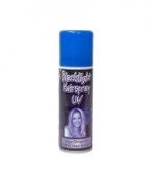 Blacklight hair spray trend