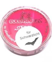Blacklight schmink kleur licht roze 12 ml trend