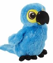 Blauwe papegaai knuffels trend