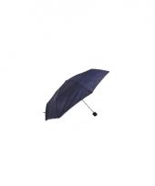 Blauwe paraplu voor in je tas 92 cm trend