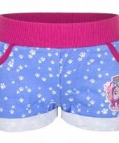 Blauwe paw patrol shorts trend